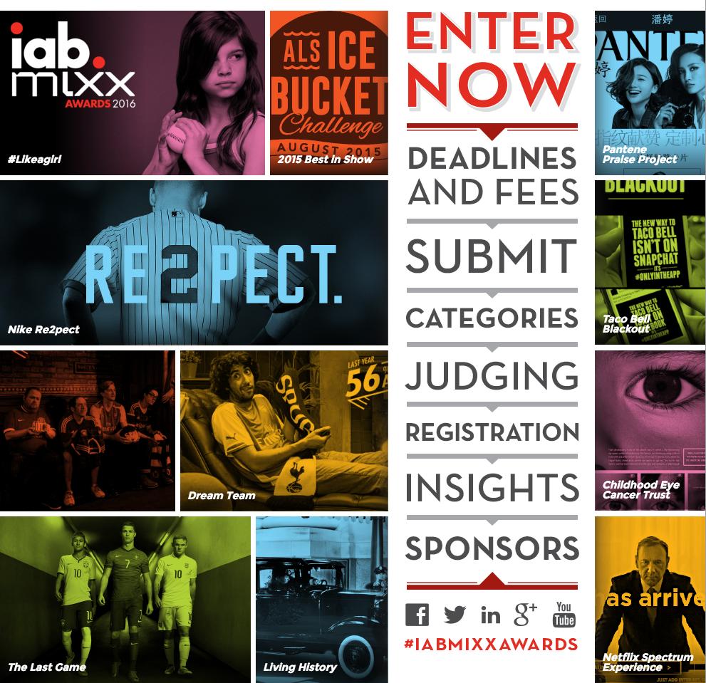 iab mixx awards 2016